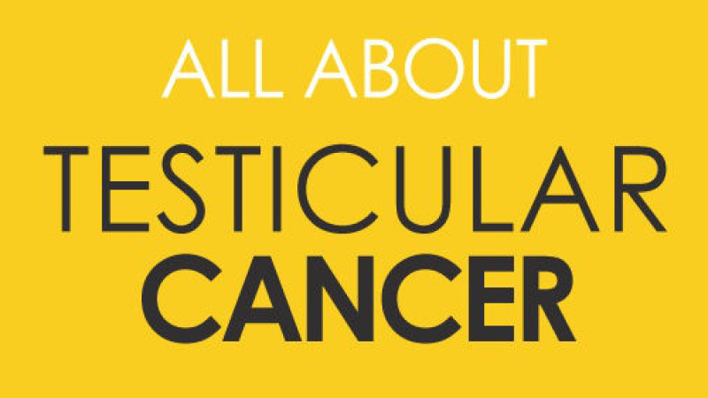 Infografía sobre el cáncer testicular