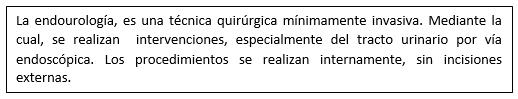 Endourología